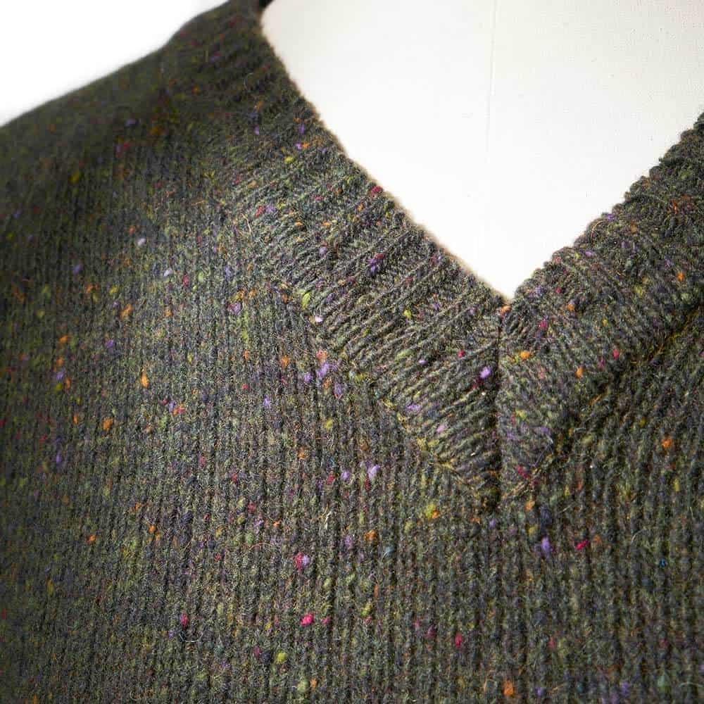 winter jumper green pullover, Dashing tweeds, menswear, tailoring, made to measure, british tailor
