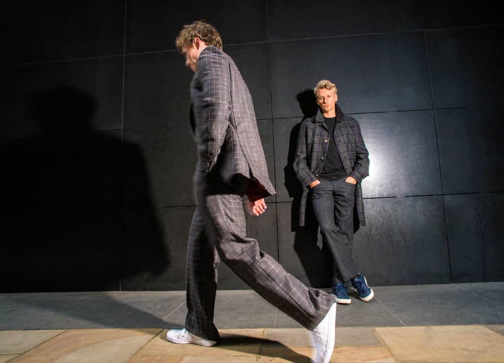 Dashing tweeds, menswear, made to measure, luxury