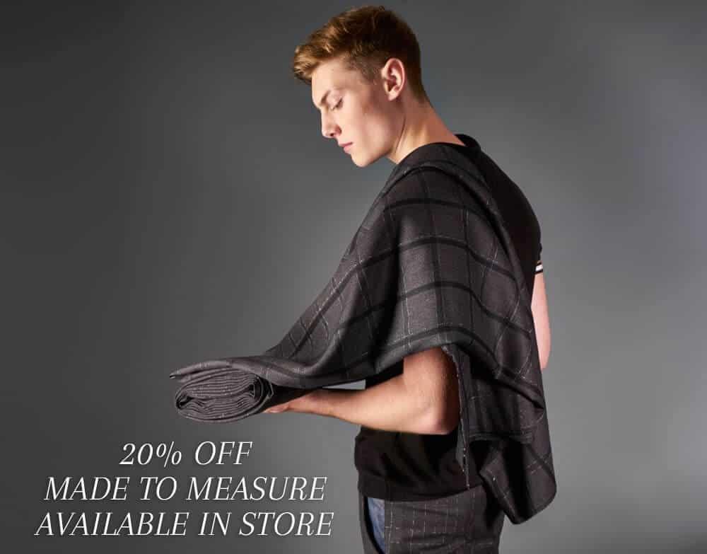 made to measure, menswear tweed, tweed