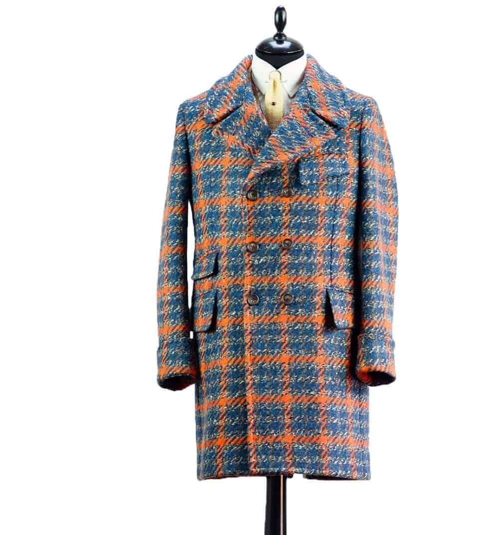 dashing tweeds, tweed, tweeds, menswear, made to measure, Savile row, sackville street, luxury, tailoring, British tailors, Daniele savare, connection knitwear, connection knitwear and clothing, British tailoring, orange overdrive cloth