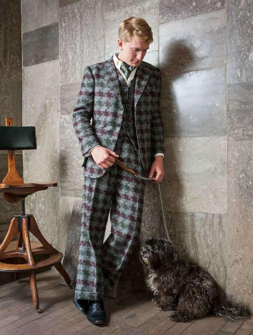 Dashing Tweeds, tweed, menswear, tweeds, British tailoring, made to measure, British tailors, London, Shetland Jig cloth, design, sackville street