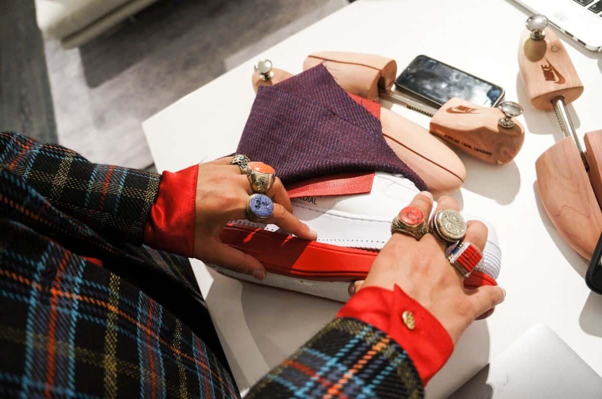 dashing tweeds, tweed, tweeds, menswear, luxury, suits, tailoring, British tailors, British tailoring, 47 Dorset street, Marylebone, nike, nike lab