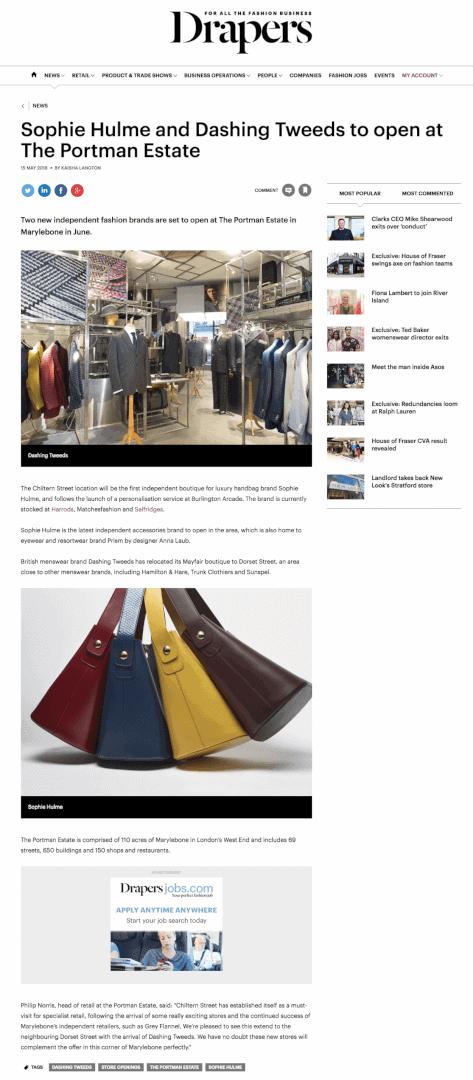 dashing tweeds, tweed, tweeds, menswear, luxury, suits, tailoring, British tailors, British tailoring, 47 Dorset street, Marylebone, drapers magazine, drapers