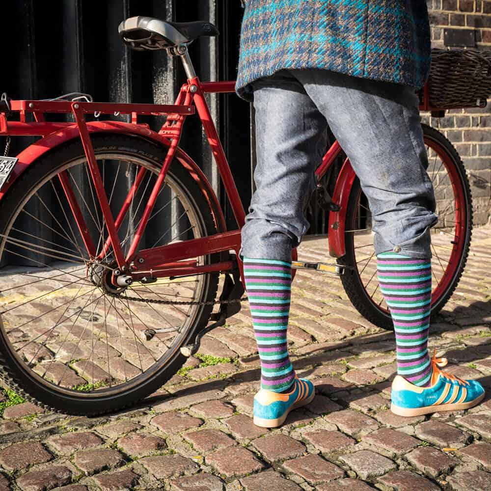 Gochic Bicycle Eco-Collection Fabric Saddle